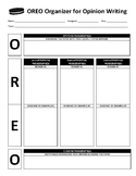 OREO Organizer for Opinion Writing