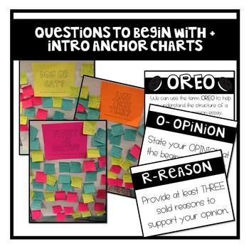 OREO Persuasive/Opinion Writing