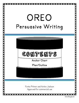 OREO Persuasive Writing