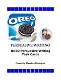 OREO Persuasive Writing: 52 Task Cards *Includes Answer Key!