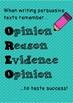 OREO Persuasive Writing Template 1-4