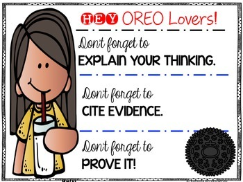 OREO Reading Skills Comprehension Helper Non-fiction/Fiction