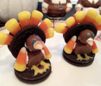 OREO TURKEYS for Thanksgiving!!!!!