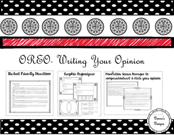 OREO- Writing You Opinion