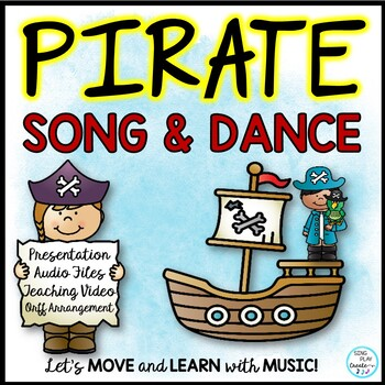 "Orff Pirate Song and Dance: ""I'm a Pirate"" with Sheet Music Sing Play Create"
