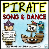 """Pirate Song and Dance: """"I'm a Pirate"""" Video Lesson, Video Dance, Orff Music"""