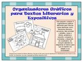 ORGANIZADORES GRAFICOS PARA LECTURA  / SPANISH GRAPHIC ORGANIZERS