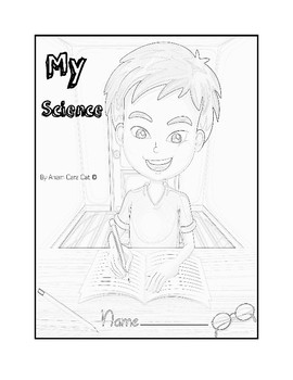 "ORGANIZE YOUR SCIENCE FOLDERS: Colorable; Printable: ""My Science"""