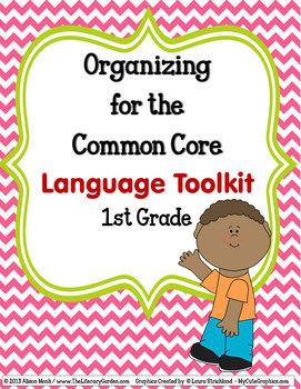 ORGANIZING for the COMMON CORE {1st Grade LANGUAGE Teacher