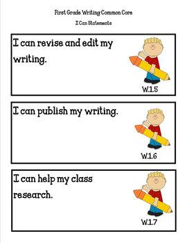 COMMON CORE ORGANIZER{1st Grade WRITING Teachers Toolkit}