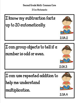 ORGANIZING for the COMMON CORE {2nd Grade MATH Teachers Toolkit}