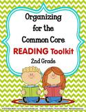 COMMON CORE ORGANIZER {2nd Grade READING Teachers Toolkit}