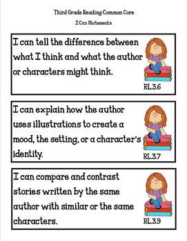 COMMON CORE ORGANIZER {3rd Grade READING Teachers Toolkit}