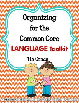 ORGANIZING for the COMMON CORE {4th Grade LANGUAGE Teacher