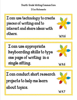 COMMON CORE ORGANIZER {4th Grade WRITING Teachers Toolkit}