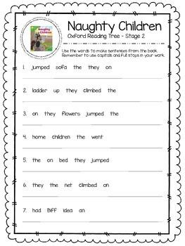 Oxford Reading Tree Stage 2 - Naughty Children Close Readi