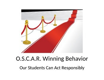 OSCAR Winning Behavior Discipline Plan