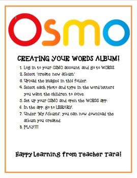 OSMO Words - Parts of the Body