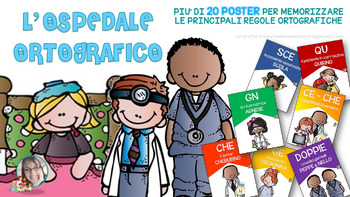 OSPEDALE ORTOGRAFICO - POSTERS