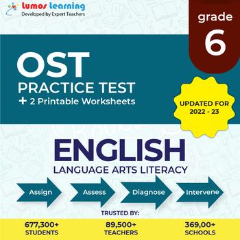 Ohio State Test Prep 6th Grade ELA - OST Practice Test, Worksheets