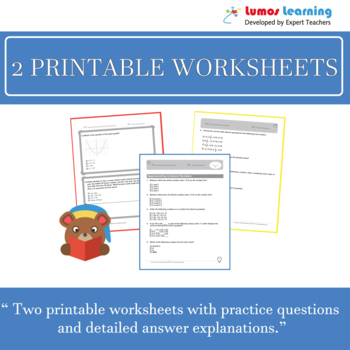 Ohio State Test Prep 7th Grade ELA - OST Practice Test, Worksheets