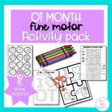 Visual Motor Activities Pack : OT Theme