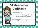 OT Graduation Certificates