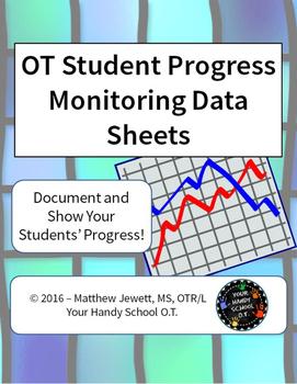 OT Student Progress Monitoring Data Sheets