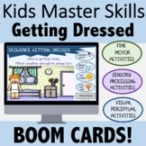 Occupational Therapy BOOM CARDS for Teletherapy: Getting Dressed
