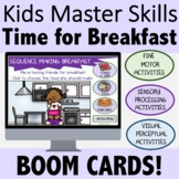 Occupational Therapy BOOM CARDS for Teletherapy: Time for
