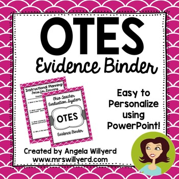 OTES Evidence Binder {Ohio Teacher Evaluation System} Berry and Gray
