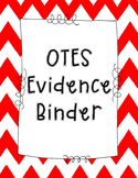 OTES Evidence Binder Title Pages
