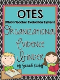 OTES (Ohio's Teacher Evaluation System) Organizational Evidence Binder