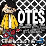 OTES (Ohio's Teacher Evaluation System) Organizational Edi
