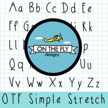 OTF Simple Stretch FONT{CU OK}
