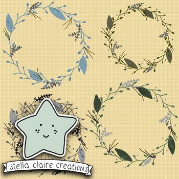 OTF Wreath Set 1   {CU OK}
