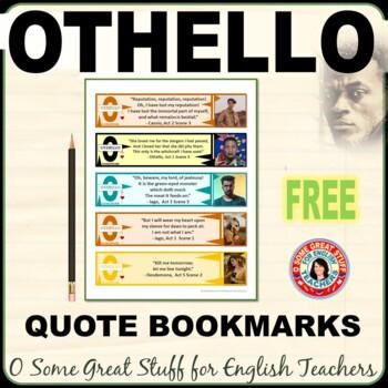 OTHELLO BOOKMARKS