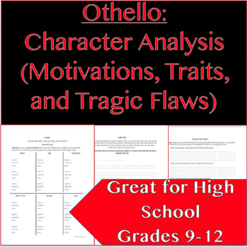 OTHELLO Character Analysis (Character Motivations, Traits, and Tragic Flaws)