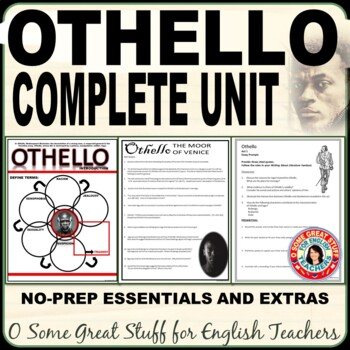 OTHELLO Complete Unit Bundled with Engaging Activities for Every Student