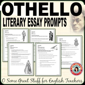 OTHELLO Creative and Analytical Writing Prompts for the Whole Play