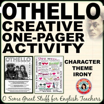 OTHELLO Fun and Creative Theme, Characterization, and Reflection Activity