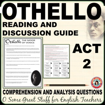 OTHELLO Questions for Comprehension and Analysis ACT 2