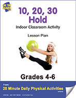 10, 20, 30 Hold Lesson Plan (eLesson eBook)