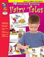 10 Literacy Building Fairytales Aligned to Common Core Gr. 1-3 (Enhanced eBook)