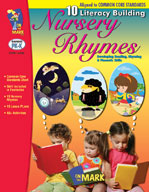 10 Literacy Building Nursery Rhymes Aligned to Common Core Gr. PK-K (Enhanced eBook)