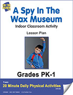 A Spy In The Wax Museum Lesson Plan (eLesson eBook)