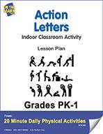 Action Letters Lesson Plan (eLesson eBook)