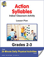 Action Syllables Lesson Plan (eLesson eBook)