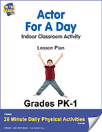 Actor For A Day Lesson Plan (eLesson eBook)