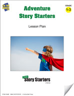 Adventure Story Starters Grades 1-3